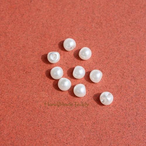 Мини пуговки 5 мм под жемчуг