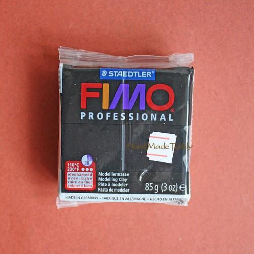 Fimo Professional 09 чёрный