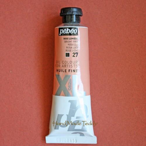 № 27 Масляная краска Розовый светлый